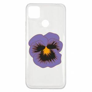 Etui na Xiaomi Redmi 9c Pansy Flower