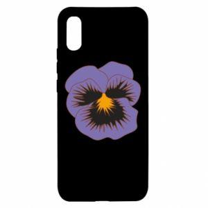 Etui na Xiaomi Redmi 9a Pansy Flower