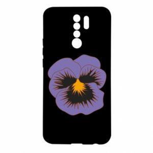 Etui na Xiaomi Redmi 9 Pansy Flower