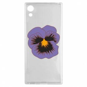 Etui na Sony Xperia XA1 Pansy Flower