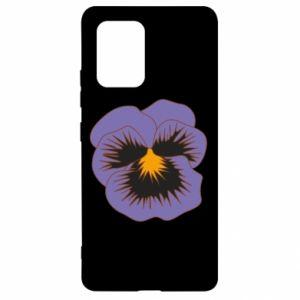 Etui na Samsung S10 Lite Pansy Flower