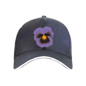 Czapka Pansy Flower