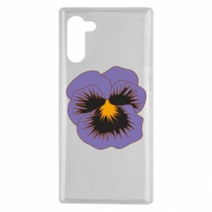 Etui na Samsung Note 10 Pansy Flower