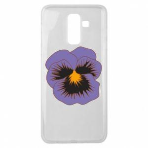 Etui na Samsung J8 2018 Pansy Flower