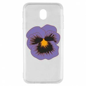 Etui na Samsung J7 2017 Pansy Flower