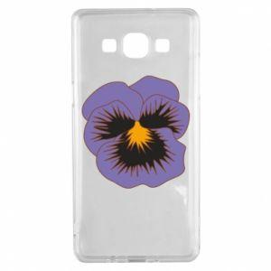 Etui na Samsung A5 2015 Pansy Flower