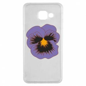 Etui na Samsung A3 2016 Pansy Flower