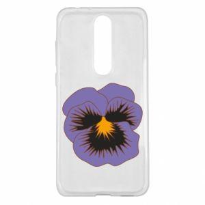 Etui na Nokia 5.1 Plus Pansy Flower
