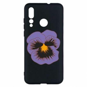 Etui na Huawei Nova 4 Pansy Flower