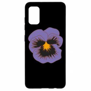 Etui na Samsung A41 Pansy Flower