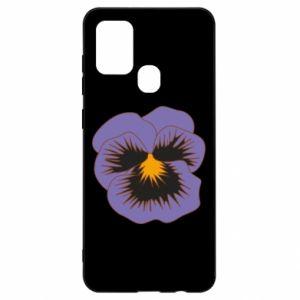 Etui na Samsung A21s Pansy Flower