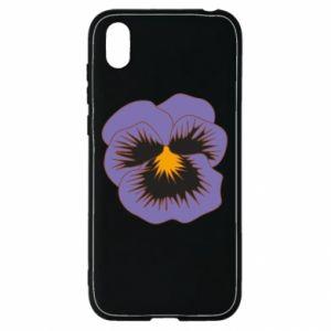 Etui na Huawei Y5 2019 Pansy Flower