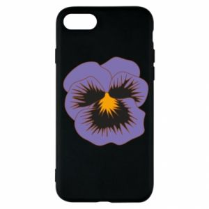 Etui na iPhone SE 2020 Pansy Flower