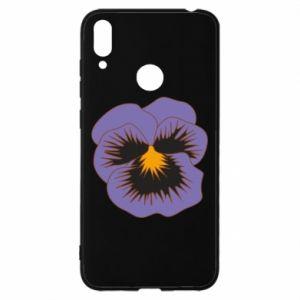 Etui na Huawei Y7 2019 Pansy Flower