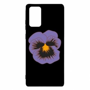 Etui na Samsung Note 20 Pansy Flower