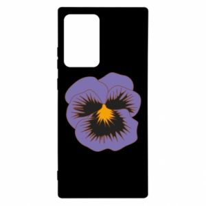 Etui na Samsung Note 20 Ultra Pansy Flower