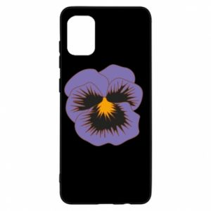 Etui na Samsung A31 Pansy Flower