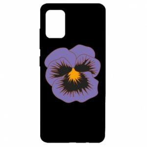Etui na Samsung A51 Pansy Flower