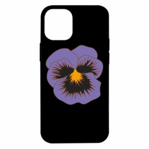 Etui na iPhone 12 Mini Pansy Flower