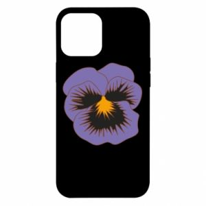 Etui na iPhone 12 Pro Max Pansy Flower