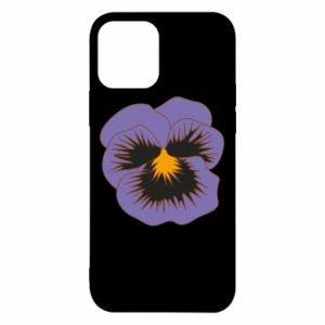 Etui na iPhone 12/12 Pro Pansy Flower