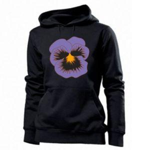 Women's hoodies Pansy Flower