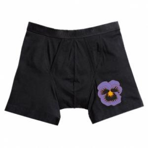 Boxer trunks Pansy Flower