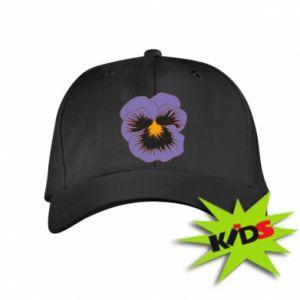 Kids' cap Pansy Flower