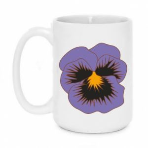 Kubek 450ml Pansy Flower
