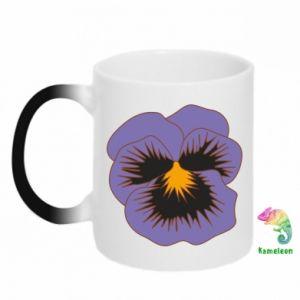 Kubek-magiczny Pansy Flower