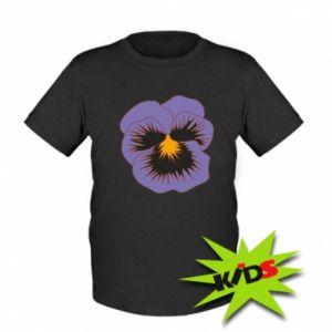 Dziecięcy T-shirt Pansy Flower