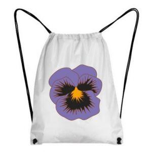 Backpack-bag Pansy Flower