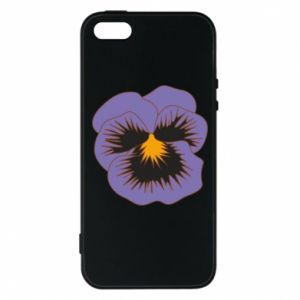 Etui na iPhone 5/5S/SE Pansy Flower