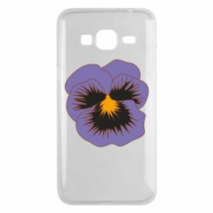 Phone case for Samsung J3 2016 Pansy Flower