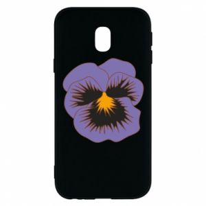 Phone case for Samsung J3 2017 Pansy Flower
