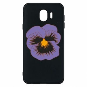 Phone case for Samsung J4 Pansy Flower