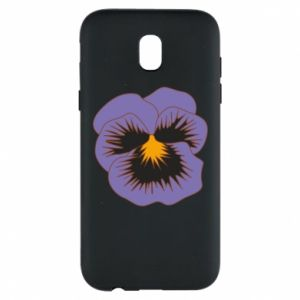 Phone case for Samsung J5 2017 Pansy Flower