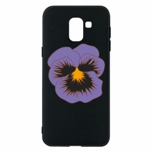 Phone case for Samsung J6 Pansy Flower