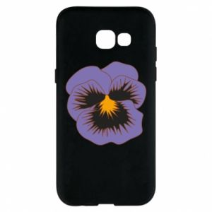 Phone case for Samsung A5 2017 Pansy Flower
