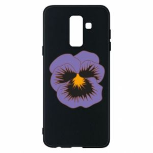 Phone case for Samsung A6+ 2018 Pansy Flower