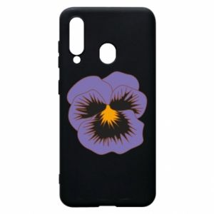 Phone case for Samsung A60 Pansy Flower