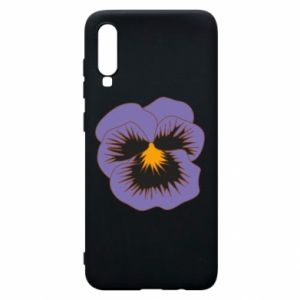 Phone case for Samsung A70 Pansy Flower