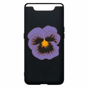 Phone case for Samsung A80 Pansy Flower