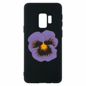 Phone case for Samsung S9 Pansy Flower