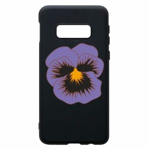 Phone case for Samsung S10e Pansy Flower