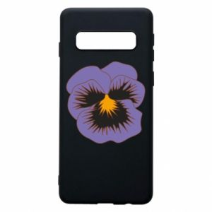 Phone case for Samsung S10 Pansy Flower
