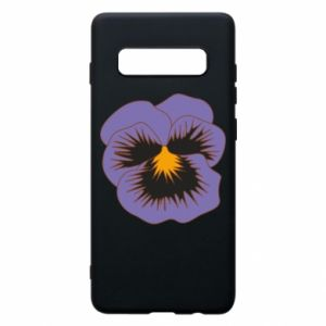 Phone case for Samsung S10+ Pansy Flower