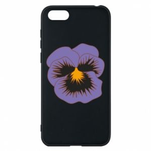 Phone case for Huawei Y5 2018 Pansy Flower