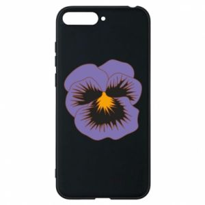 Phone case for Huawei Y6 2018 Pansy Flower