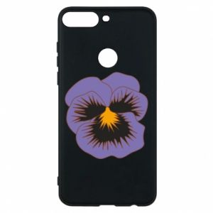 Phone case for Huawei Y7 Prime 2018 Pansy Flower
